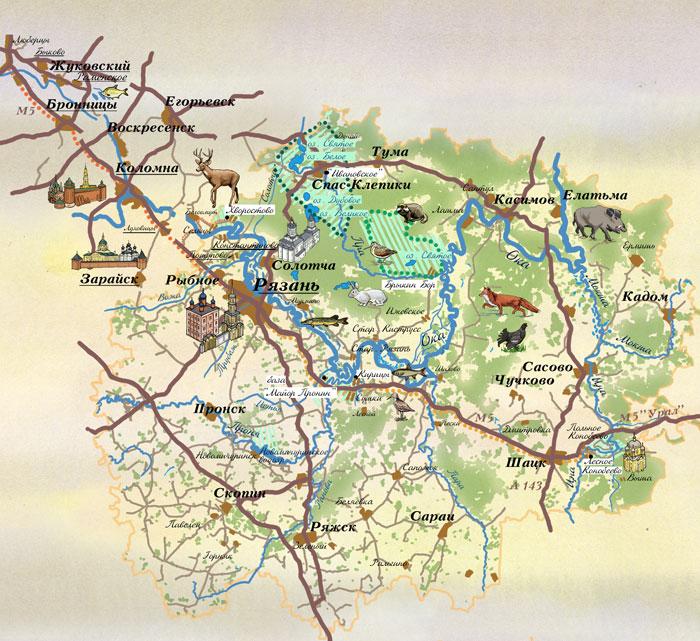 грибные места на карте с фото 1