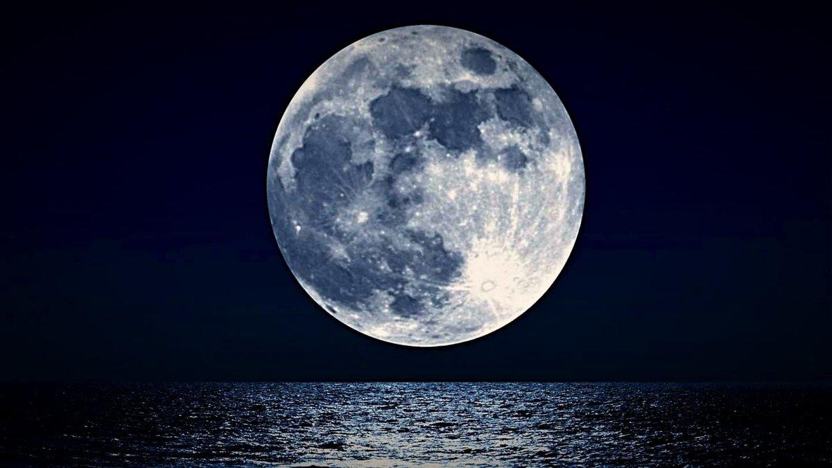 фазы Луны фото