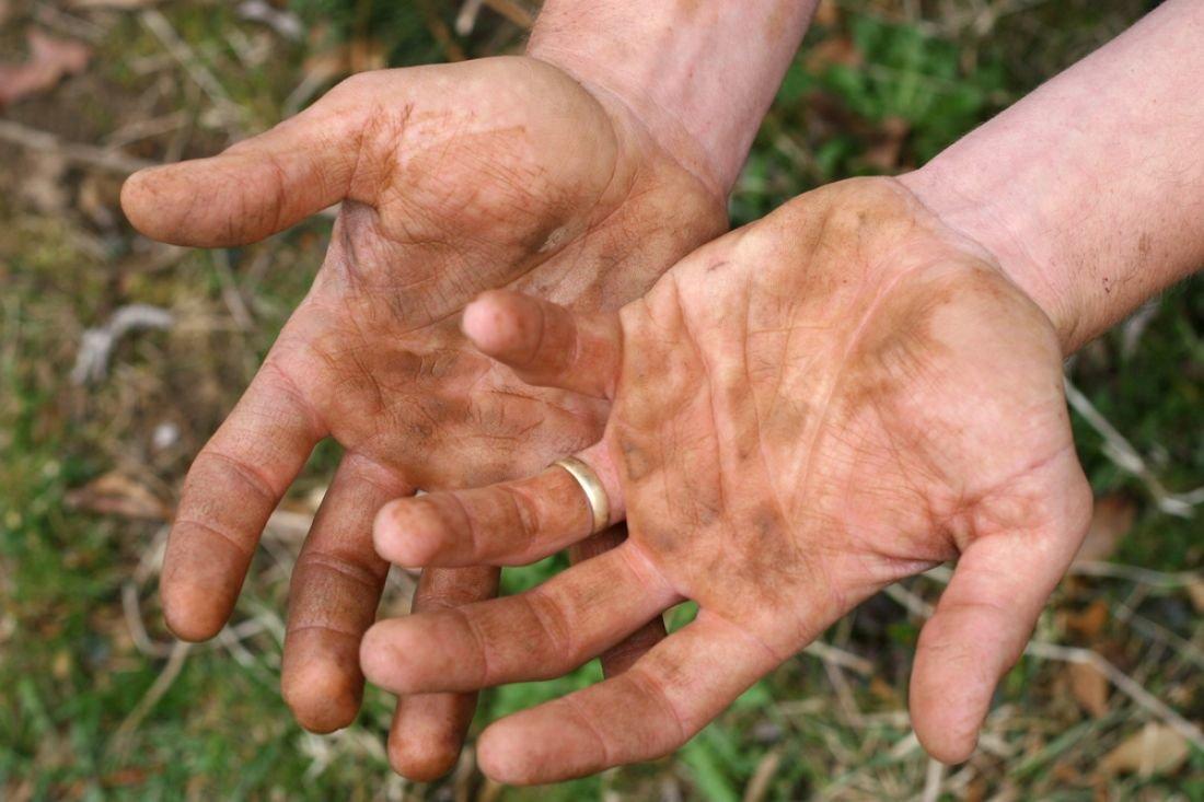 как быстро отмыть руки от маслят фото