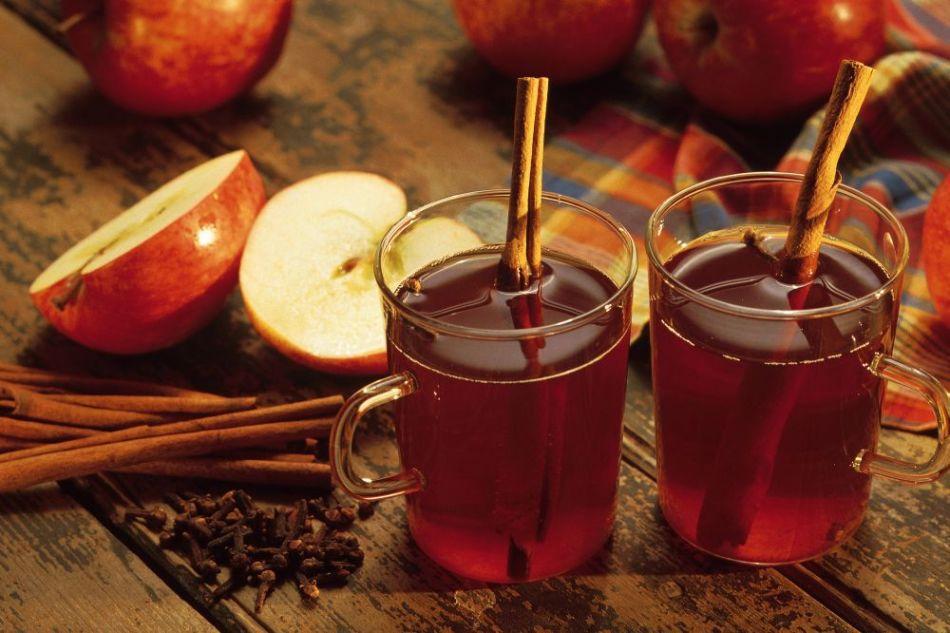 яблочный Глинтвейн с ромом фото