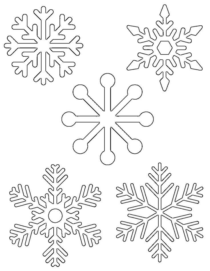 снежинка - классическая вытынанка и символ зимы фото 1