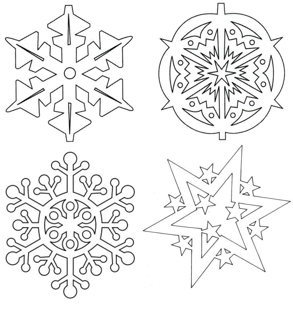 снежинка - классическая вытынанка и символ зимы фото 3