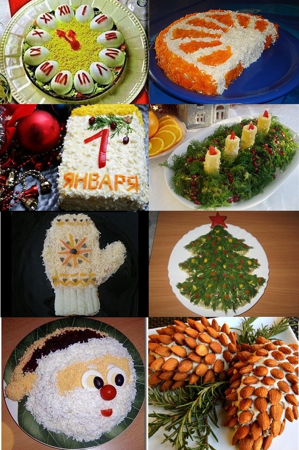 идеи подачи простых, легких и бюджетных салатов на фото 5