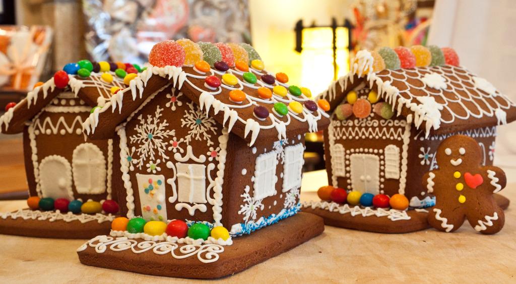 пошаговый рецепт пряничного домика на Новый год 2021 и Рождество фото 1