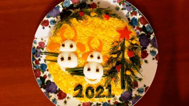 №4 - Нежный салат с куриной грудкой и авокадо фото