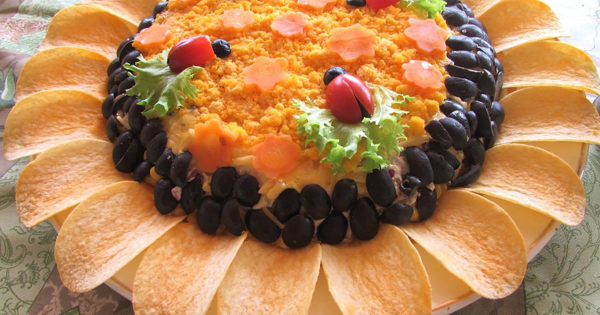 идеи оформления салата, фото 2