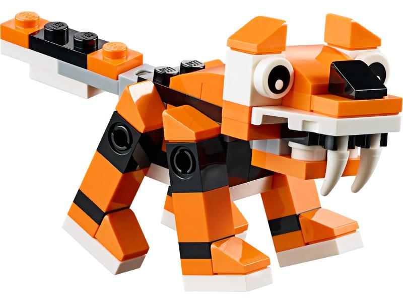 тигр из конструктора лего - собираем с ребенком фото 1