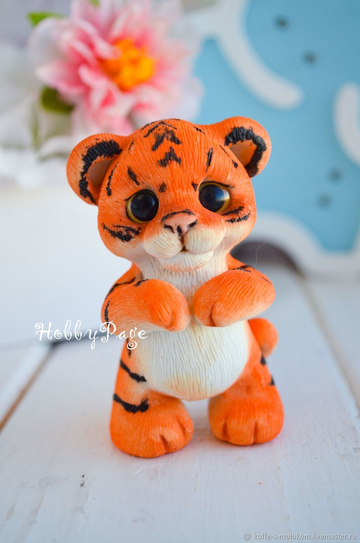 из каких материалов еще можно сделать тигрёнка своими руками, список фото
