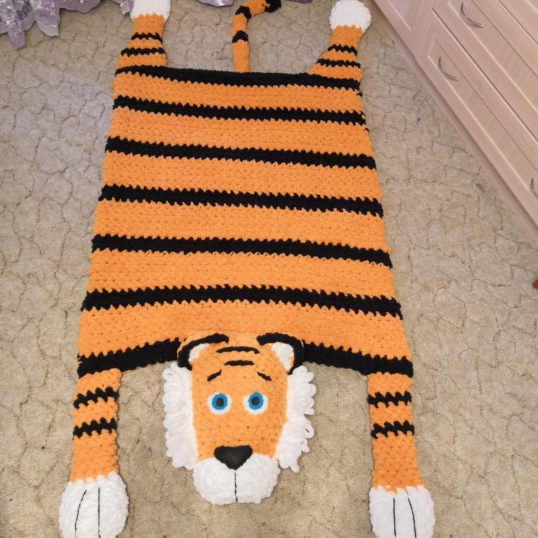 тигр 2022 - символ года из ализе пуффи своими руками на фото