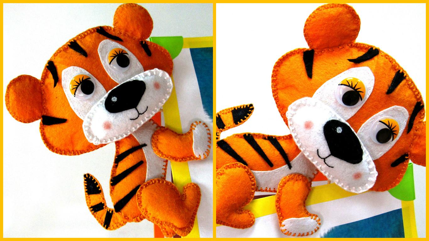 тигр из фоамирана фото 3