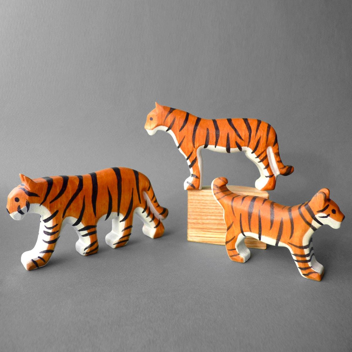 мастер-класс из дерева №14 - тигр из дерева фото 1