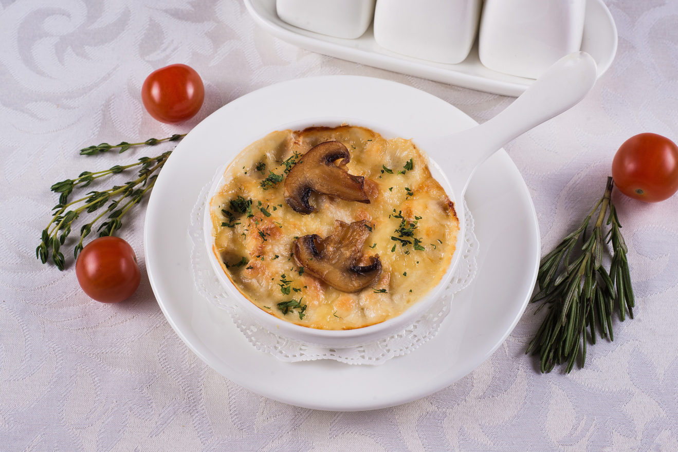 пятый рецепт - Жульен из грибов по-домашнему на фото