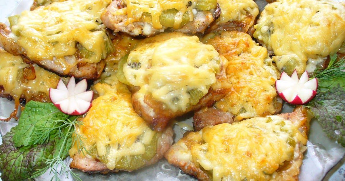 мясо по-французски с ананасами или киви фото 2
